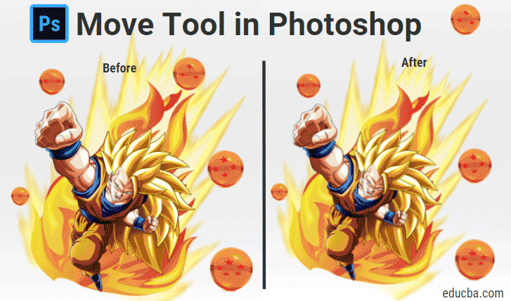 move tool in photoshop
