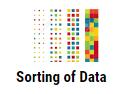 sorting of data