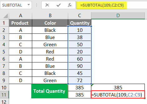 subtotal-in-excel-example-1-4-2