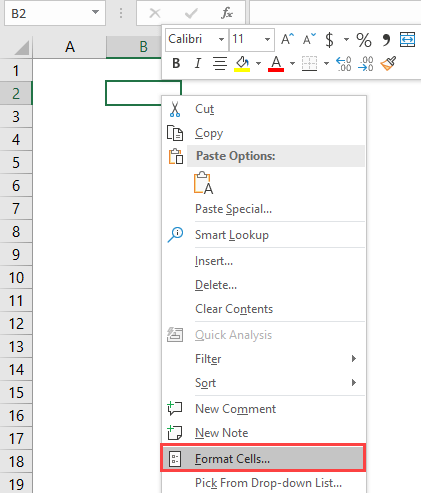 time in excel 1-5