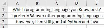 vba value Example 3.1