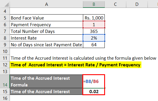 Accrued Interest Formula Example 1-2