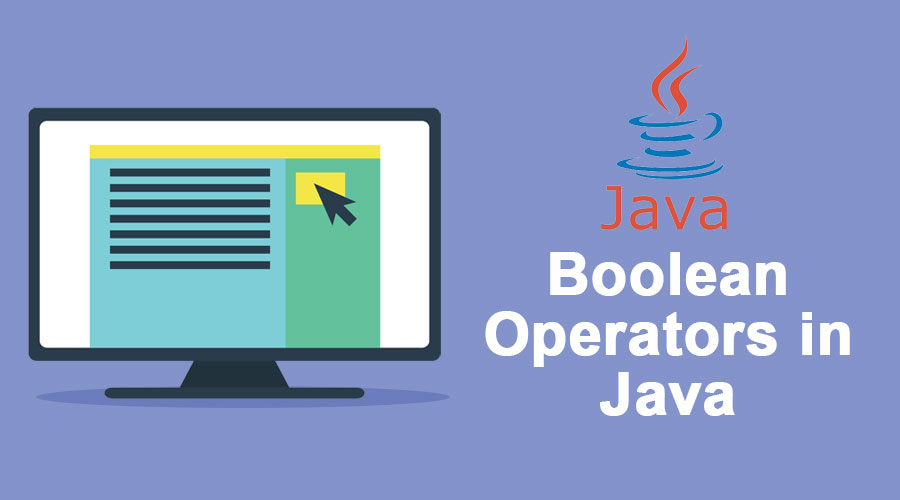 Boolean operators in Java