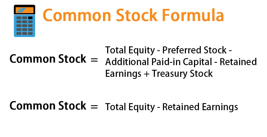 common stock formula