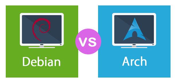Debian vs Arch