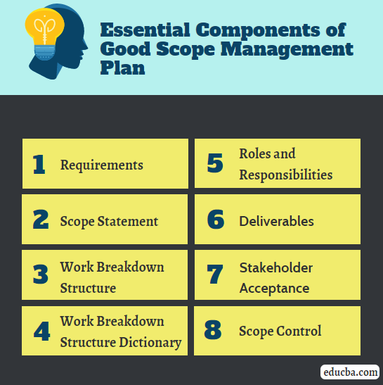 Essential Components of  a Good Scope Management Plan