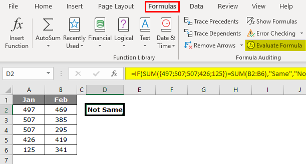 Evaluate Formula Feature 2