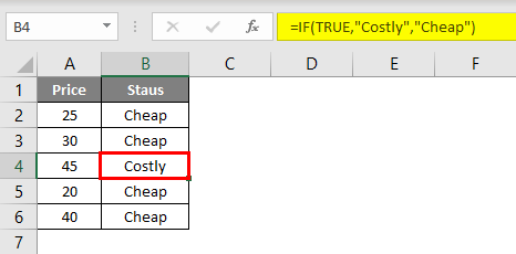 Evaluate Formula in excel example 1.4