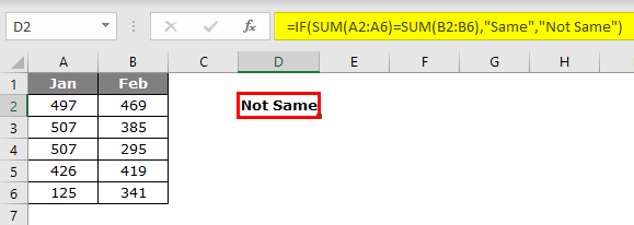 Evaluate Formula in excel example 2.2