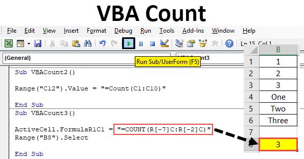 Excel VBA Count