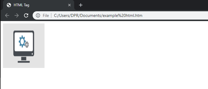 Html Image Tags-Output