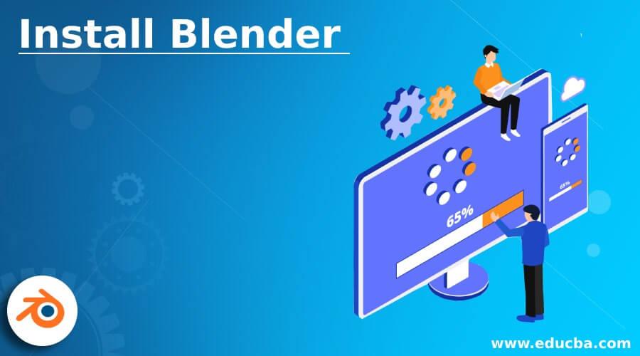 Install Blender