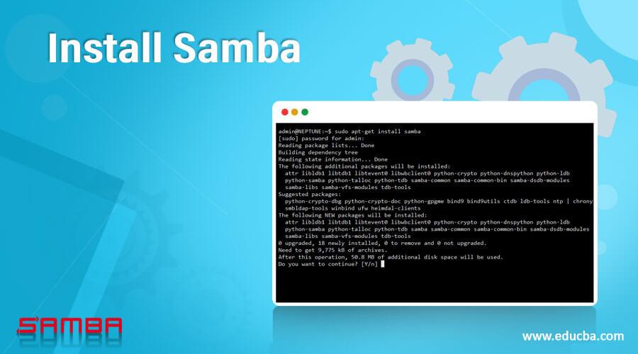 Install Samba