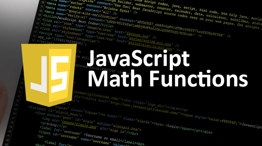 JavaScript Math Functions | Different methods & Properties with Examples