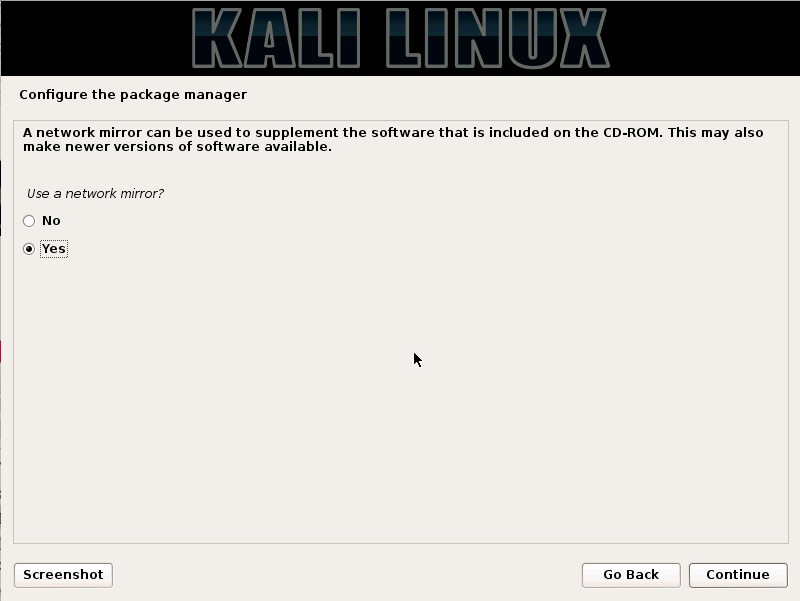 Kali Linux - Package Manager