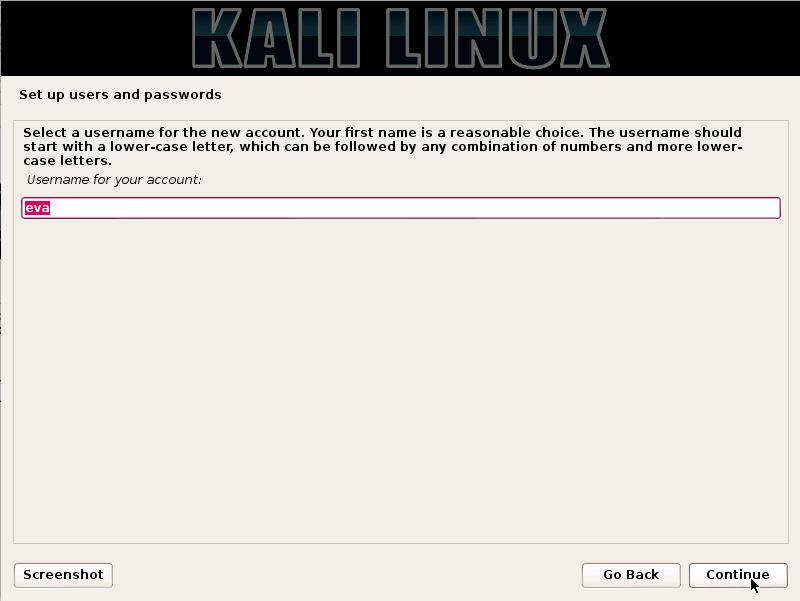default user ID