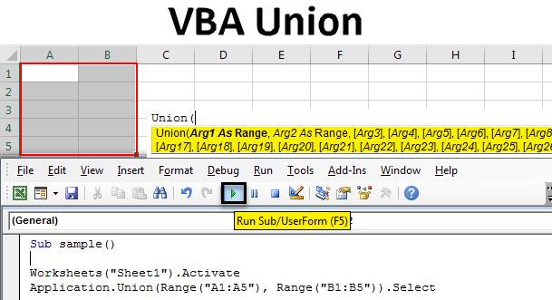 VBA Union