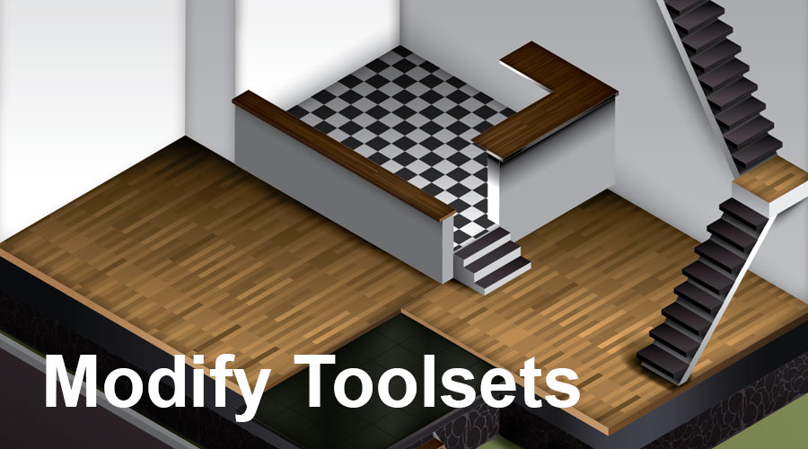 3d max tools (Modify-toolsets)