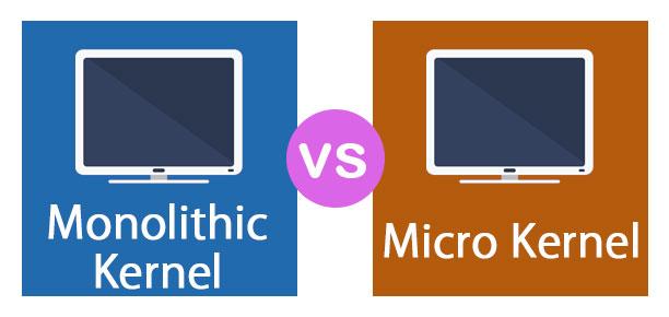 Monolithic Kernel vs Micro Kernel