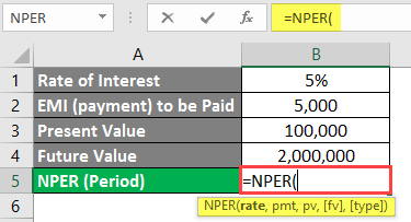 Calculate Period for Future Value Increment - 5