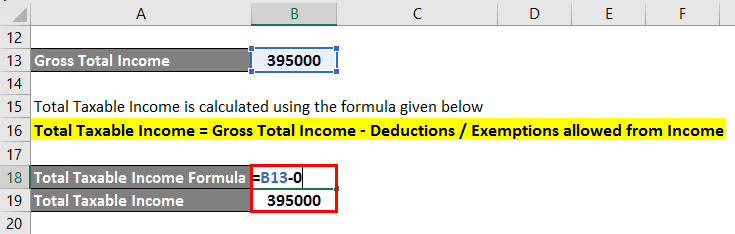 Total Taxable Income -1.3