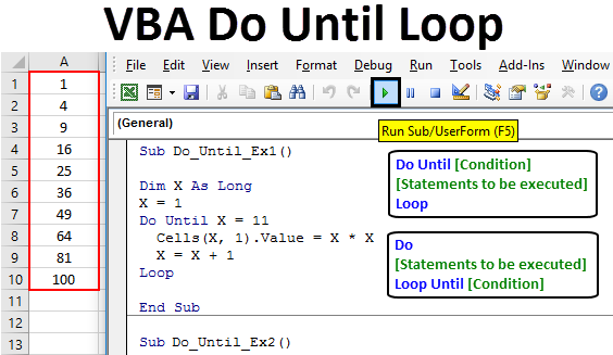 VBA Do Until Loop
