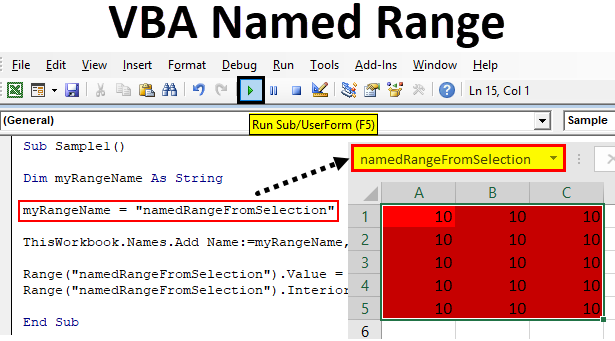 VBA Named Range | How to Use VBA Named Range in Excel VBA?