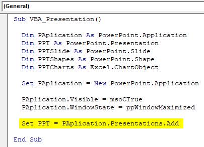 VBA PowerPoint Example 1-9