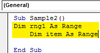 VBA Union Example 3.2