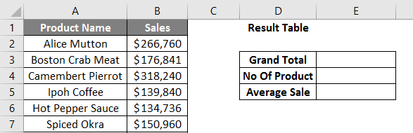 calculations in excel example 2.2