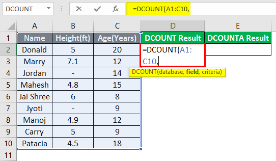 database excel 3-3
