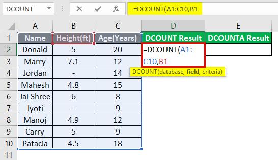 database excel 3-4
