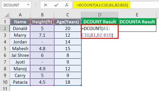 database excel 3-5