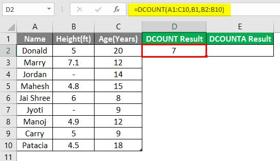 database excel 3-6