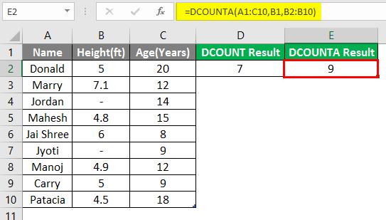 database excel 3-7