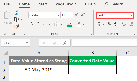 excel Value - Example 2-1