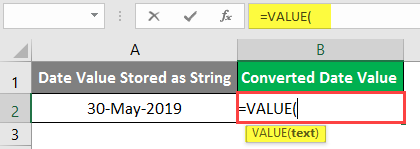 excel Value - Example 2-2