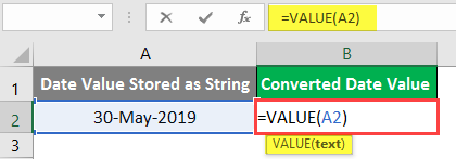 excel Value - Example 2-3