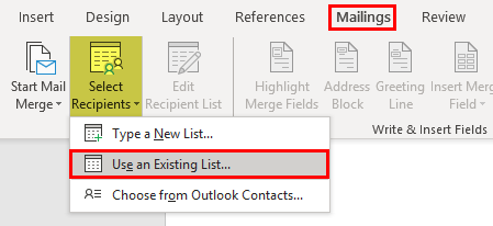 how to print labels from excel step 4
