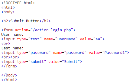 Input Type Submit