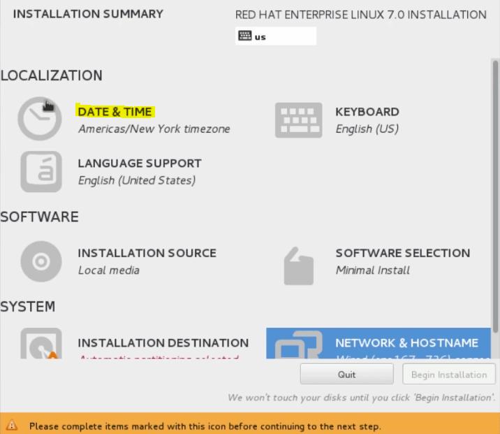 Install Unix 22