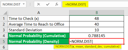 norm dist example 2-1