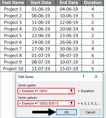 project timeline in excel 4