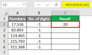 round formula in excel 4-2