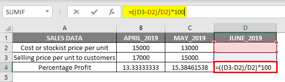 solve equation in excel example 1.2