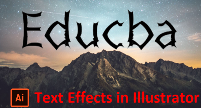 Text Effects In Illustrator