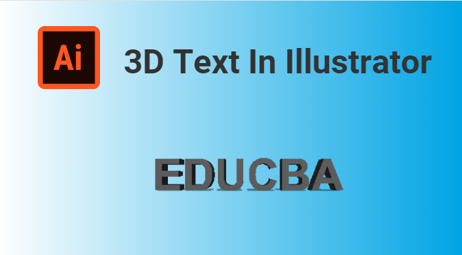 3D text In Illustrator