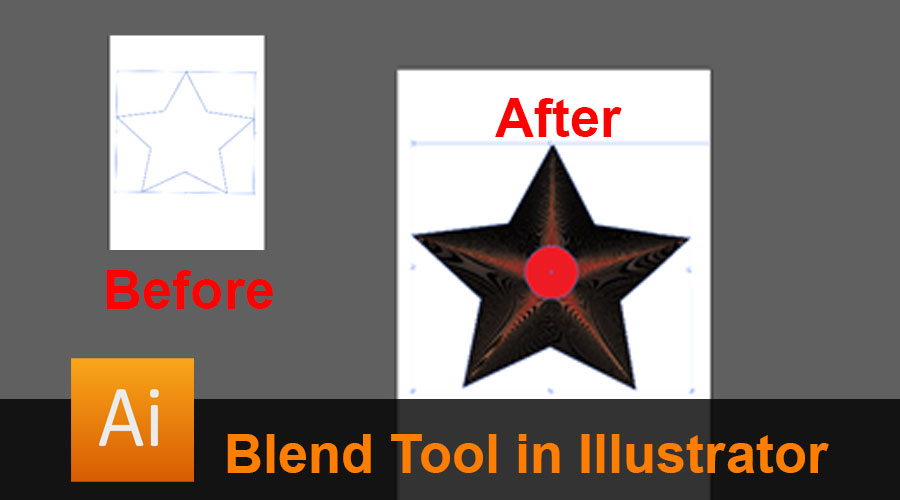 Blend Tool in Illustrator