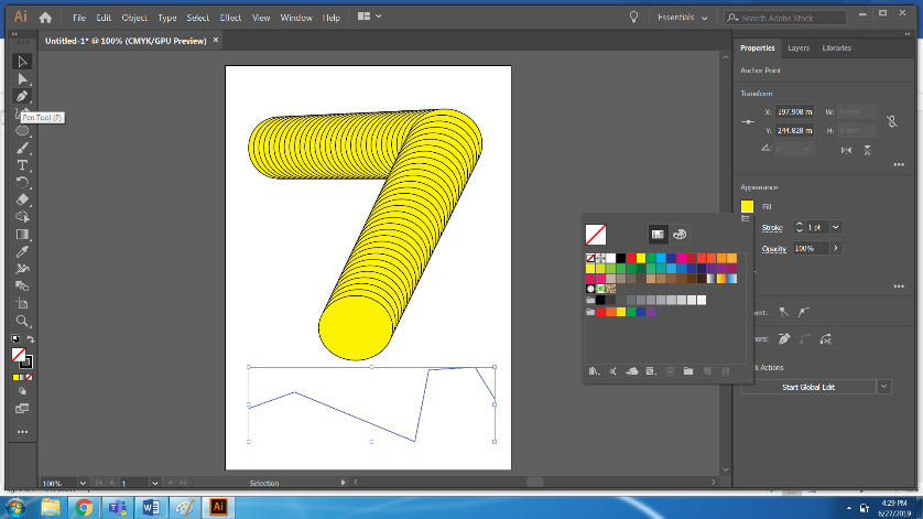 Blend Tool in Illustrator Step 9