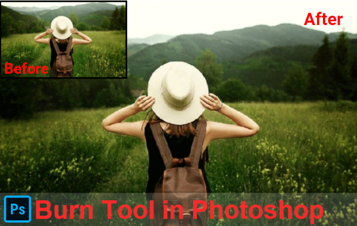 Burn Tool in Photoshop
